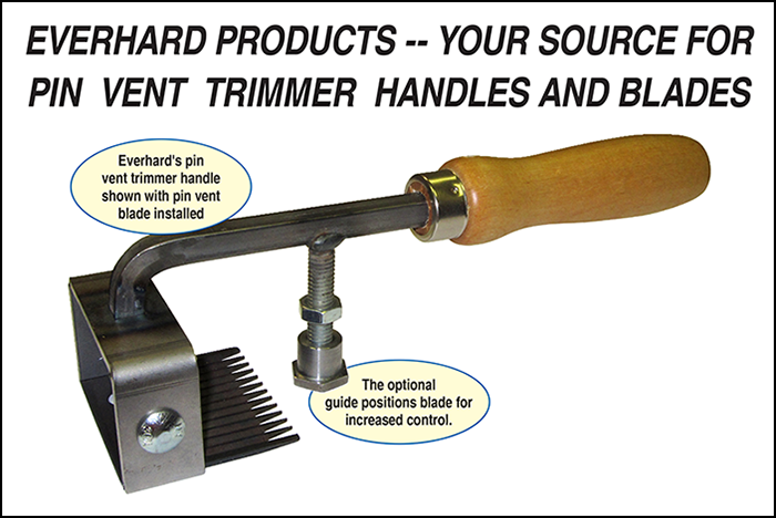 Everhard Pin Vent Trimmer Blade
